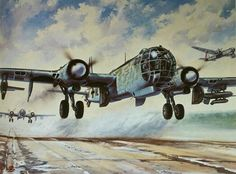 He 177 Greif artwork. thnk t was series4?