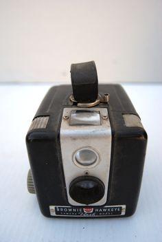 Brownie Hawkeye camera flash model by Eastman Kodak.