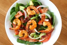 Yammie's Noshery: Shrimp and Bacon Salad More