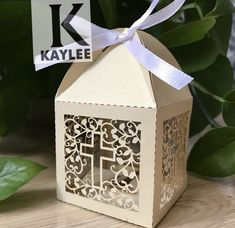 Handmade BabyShower Party Favor Box,CrossDesign Wedding Candy WrapperBox,100pcs Personalized Souvenirs Gift Boxes for Decoration //Price: $34.00 & FREE Shipping //     #hashtag1