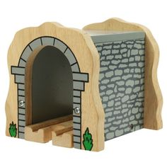 TUNNEL ~ GREY STONE ~ for Wooden Train Track Set ( Brio Thomas )  NEW BOXED