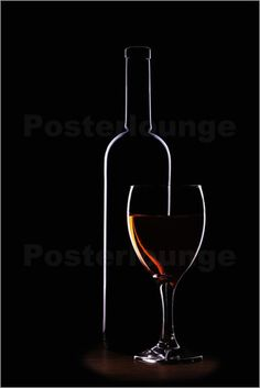 Bottle Wine Pictures: Posters by Fotografie Denis Kramer at Posterlounge.co.uk