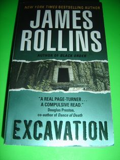 Excavation By James Rollins 2007 Paperback
