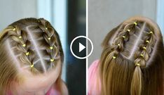Front pull through braids we blew out her hair today and it looked so smooth and silky love this style ❤️ – Artofit Girl Hair Dos, Baby Girl Hair, Little Girl Hairstyles, Braided Hairstyles, Female Hairstyles, Shoulder Length Hair, Hair Today, Her Hair, Short Hair Styles