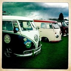 Slammed VW Buses by JacquiJSB, via Flickr