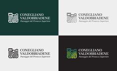 Proposta di logo per la candidatura del territorio di Conegliano Valdobbiadene a Patrimonio Unesco dell'Umanità