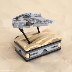 Falcon Over Jakku | Here's another Star Wars vehicle sculptu… | Flickr