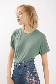 Supersoft T-Shirt Body - Tops - Clothing - Topshop USA