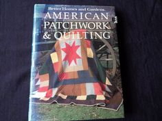 Vintage book 1985 American patchwork and by vintagewayoflife
