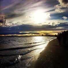 St Kilda Beach in St Kilda, VIC