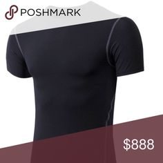 COMING SOON MENS COMPRESSION SHIRT Details soon price will drop on arrival Shirts Tees - Short Sleeve