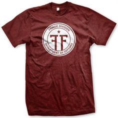 Fringe TV Series Fringe Division Logo T-shirt: Amazon.co.uk: Clothing