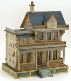 Bliss Dolls House  Rick Maccione-Dollhouse Builder www.dollhousemansions.com