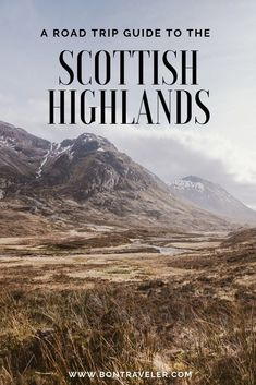A Road Trip Guide to Discovering the Scottish Highlands One week exploring the Scottish Highlands was an adventure. From historic castles, discovering local cuisine, to otherworldy landscapes, I couldn't have. Scotland Vacation, Scotland Road Trip, Scotland Travel, Skye Scotland, Edinburgh Scotland, Scotland People, Visiting Scotland, Destinations, Road Trip Hacks