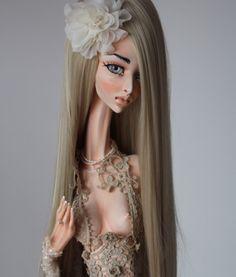 Nina. Art doll by Galina Dmitruk