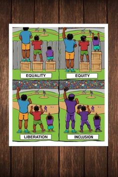 Equality vs Equity Equity Vs Equality, Equality Diversity And Inclusion, Harmony Day, Stress Management Activities, City Quotes, Becoming A Teacher, Teacher Education, Always Learning, School Counseling