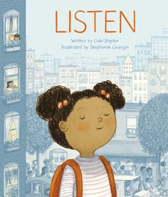 In the tradition of Tomie dePaola's Quiet and Scott Magoon's Breathe comes this lyrical, meditative picture book about listening and mindfulness. Little Free Libraries, Walking In Nature, Book Club Books, So Little Time, Creative Writing, New Pictures, Book Lovers, Childrens Books, How To Memorize Things