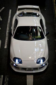 White #SUPRA #TOYOTA