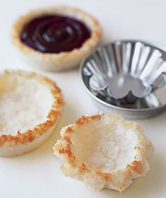Macaroon Crusts | RealSimple | Swap for unsweetened coconut