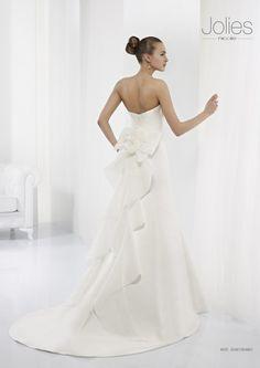 Collezione abiti da sposa #Jolies, abito da #sposa modello JOAB13048IV