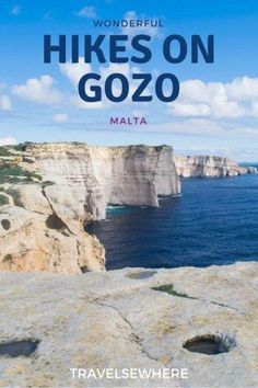 The Island of Gozo in Malta is blessed with beautiful rural landscapes and striking geological features, ideal for those looking to hike. Here are just 4 wonderful Hikes on Gozo you can do when visiting, via @travelsewhere