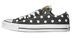 Polka Dots Converse Shoe
