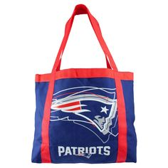 NFL New England Patriots Team Tailgate Tote, Women's