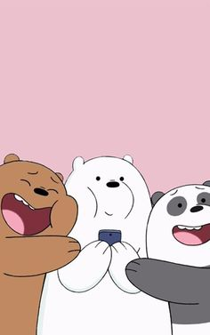 Wallpaper, Feeds & Lockscreen - ──ꪶཷ୭ we bare bears wallpaper Handy Wallpaper, Cute Panda Wallpaper, Cartoon Wallpaper Iphone, Bear Wallpaper, Cute Disney Wallpaper, Kawaii Wallpaper, Cute Wallpaper Backgrounds, Cute Cartoon Wallpapers, Galaxy Wallpaper