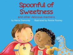 'Spoonful of Sweetness' - a lovely game adaptation of the book by award winning author, @Maria Canavello Mrasek Dismondy  teaches your child the basics of numbers and counting!