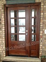 Glass Front Doors French Door With Sidelight