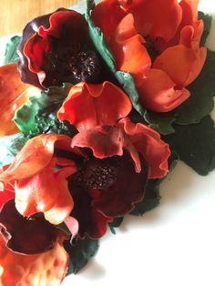 sugar craft poppies....art show