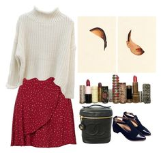 """""""rouge"""" by ahessah on Polyvore featuring Chanel"""