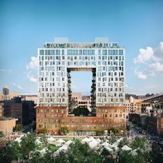 SHoP's First Domino Sugar Residential Building Gets New Renderings as Construction Marches Forward