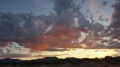 Boulder Colorado sunset