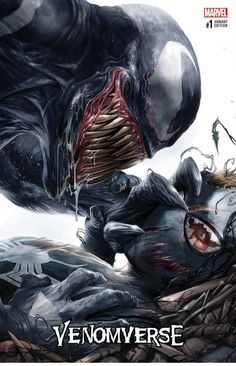 A site dedicated to Marvel's comic book character Venom; a Spider-Man villain.