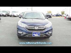 2015 Honda CR-V EX 3CZRM3H5XFG706209   Milton Martin Honda Gainesville, GA
