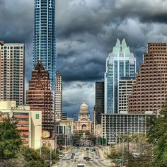 Thanks @bigeasy_1300 for letting me share your photo! A great shot of the capital and downtown Austin #texascapital #austin #photooftheday by jessicahatchett.realtor