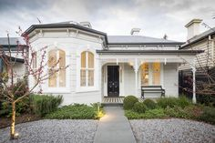 A major alteration and extension to an existing Victorian heritage home in Armadale, Melbourne.
