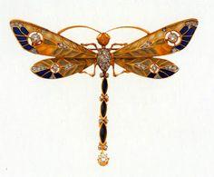 Art Nouveau ~ Dragonfly