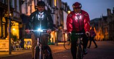 Wearables promise many things, but this LED-laden jacket could actually save your life.