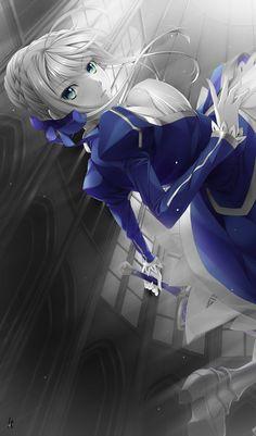 Saber Arturia Pendragon - Fate/Zero & Fate Stay Night #FTN #FZ #fanart