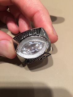 Fantasy Football Rings, Class Ring, Silver Rings, Jewelry, Jewlery, Jewerly, Schmuck, Jewels, Jewelery