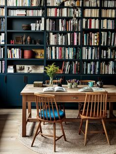 Combining Apartments to Gain Space: An Architect's Family Duplex in Paris The Family Duplex: Paris Architect Camille Hermand's Newly Combined Apartments Home Library Design, Dream Library, House Design, Home Library Decor, Mini Library, Design Design, Living Room Paint, Living Room Decor, Dining Room