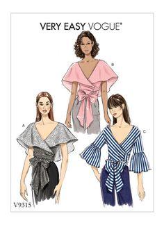 V9315 | Misses' Top Sewing Pattern | Vogue Patterns
