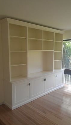 Custom TV Entertainment Wall Units - Manly Premises - Canalside Interiors