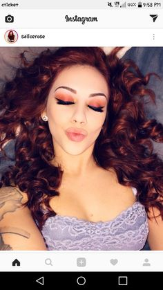 Forget the mistake, remember the lesson. Beauty Makeup, Hair Makeup, Stella Rose, Hottest Female Celebrities, Dream Hair, Woman Crush, Salsa, Halloween Face Makeup, Girly
