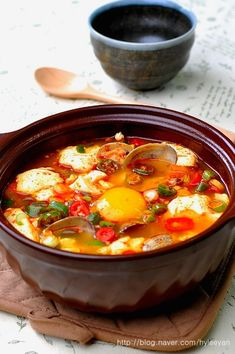 Korean Food, Chinese Food, Japanese Food, Soups And Stews, Cheeseburger Chowder, Gluten Free Recipes, Chili, Food And Drink, Asian