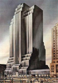 North Western Terminal  Helmut Jahn  (Chicago, 1979)