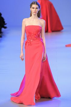 PINK BRIDAL GOWNS FROM ELIE SAAB'S SPRING 2014 COUTURE COLLECTION