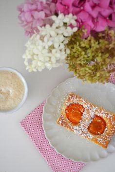 Obstkuchen vom Blech Rezept Dose, Grains, Super, Cherries, Fruit Cake Recipes, Don't Care, Seeds, Korn